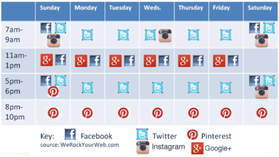 Apr 5 social-media-post-schedule