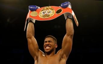 Britain Boxing IBF Heavyweight