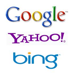 google,bing,yahoo